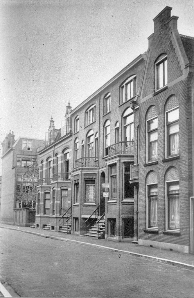 Johan de Wittstraat in 1920