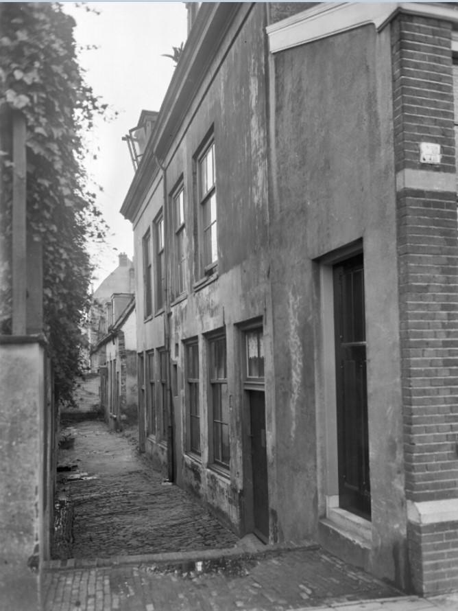 Foto van het Rozenhofje uit 1938