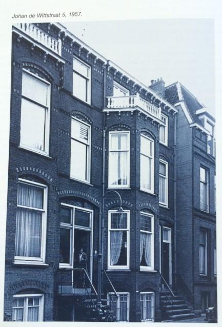 Johan de Wittstraat 5 in 1957