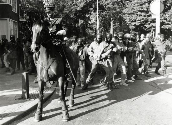Ongeregeldheden Maliesingel Utrecht 1989