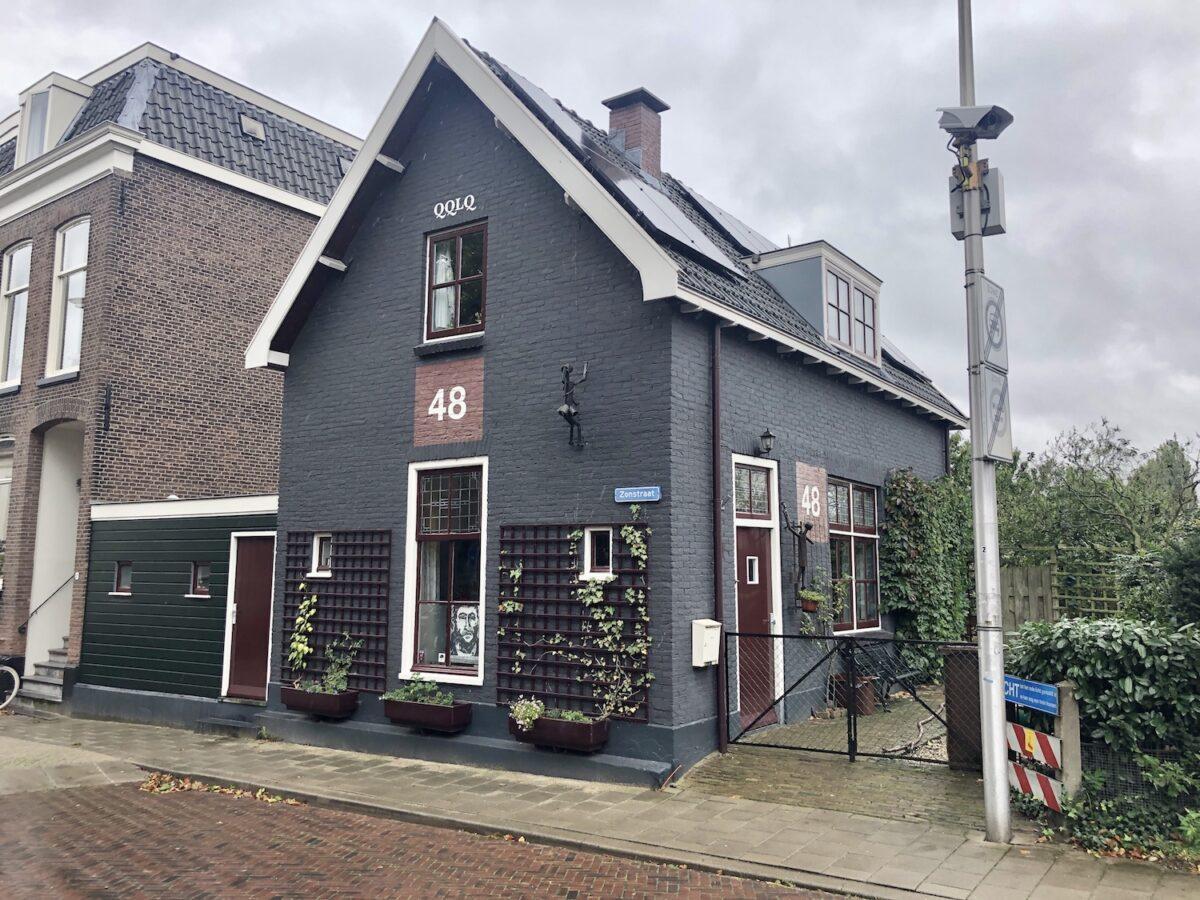 Spoorwachtershuisje Zonstraat 1 Utrecht